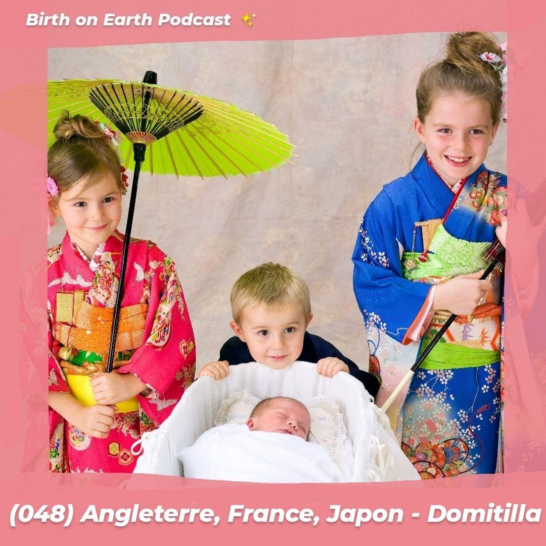 (048) Angleterre, France et Japon – Domitilla